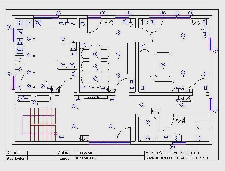Großartig Schaltplan Für Ein Haus Galerie - Elektrische ...